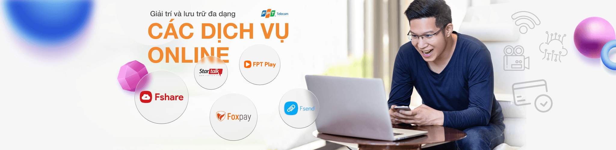 banner dịch vụ fpt online